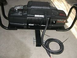 New/other Badland Apex 12000 Synthetic Cable 12000 Lb. Winch/controller And Cable