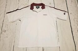 Starter Mens NFL Cardinals White Polo Size Large Designed in USA  $20.50
