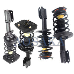 4x Quick Complete Struts Coil Assembly For 2000-11 Chevrolet Impala Policeandtaxi