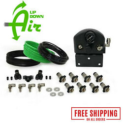 Up Down Air Universal 4 Tire Inflation System W/ Box Fittings Hoses And Storage