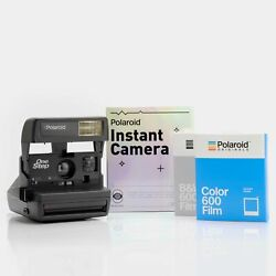 Hand-wrapped Gift Kit - Polaroid One Step 600 Camera And Film Bundle