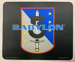 """Babylon 5 Mousepad Army Of Light 9.50"""" X 7.75"""" Sci-fi Collectible"""