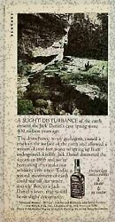 1979 Print Ad Jack Daniels Tennessee Whiskey Cave Spring 2 Ducks