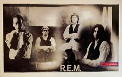 R.e.m. Photo By Dennis Keely 1991 Group Shot Poster 22 X 34