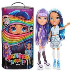 Rainbow Surprise By Poopsie 14 Doll With 20+ Slime Fashion Surprises, Amethy