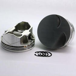 Dss Piston Set 1-3720-4185b 4.185 Bore -3cc Flat Top For Ford 351c Stroker