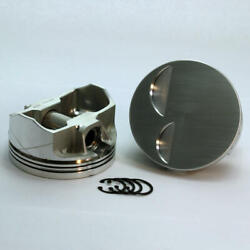Dss Piston Set 3-3102-4000 4.000 Bore -2cc Flat Top For Ford 302 Stroker