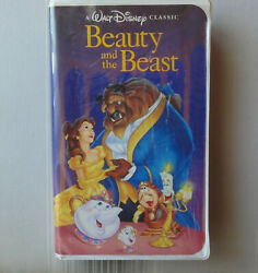 Walt Disney's BEAUTY and the BEAST VHS 1992 BLACK DIAMOND The Classics *GENUINE*