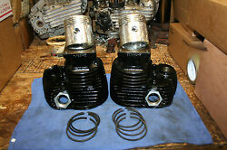 Indian Chief Front And Rear Cylinders Set Pistons Rings Standard Complete Kit