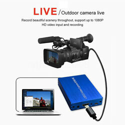 4k Hdmi To Usb 3.0 Video Capture Card Dongle Hd Video Recorder 1080p Fhd 60fps