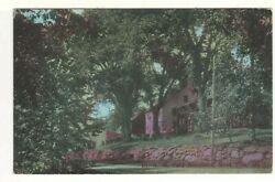 C1910 Postcard Scenic View Of Dr. A. M. Card Residence Andndash Head Tide Maine