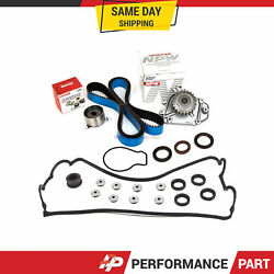 Timing Belt Kit Water Pump Valve Cover For 92-95 Acura Honda 1.6 1.7 B16a3 B17a1
