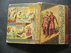 Pilgrim's Progress 1884 Rare Hc Book Cassell And Co. 222 Pages. 6 Illustrations