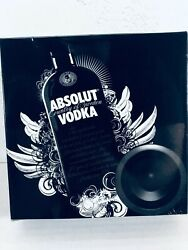 Absolute Vodka Mp3 Buildable Portable Speakers - New