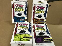 4 New In Box Crazy Cord Covers Cell Phone Iphone Laptop Fashion Accessory