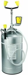 Speakman Se-590 10-gallon Portable Emergency Eye Wash With Drench Hose Stainles