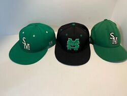 Michigan State Hat Lot 7 1/8 Snapback Fitted Spartans Baseball Cap
