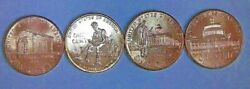 Set Of 2009 Lincoln Bicentennial Cents - 8 Coins - Unc From Bank Or Mint Rolls