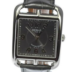 Hermes Cape Cod Cd6.810 Gray Dial Automatic Menand039s Watcha_538087