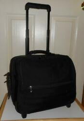 BRIGGS amp; RILEY BASELINE 14quot; COMPANION TOTE ON WHEELS WEEKEND ROLLING BAG 03 U114 $40.00