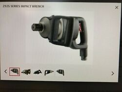 Ingersoll Rand 2925p3ti Air Impact Wrench 1 Inch Drive. Free Shipping