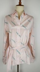 Quality Wellmade Vintage Women's Blouse Size 16 Designer Career To Cocktails