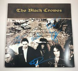 The Black Crowes Signed Autographed Southern Harmony Vinyl Album Proof