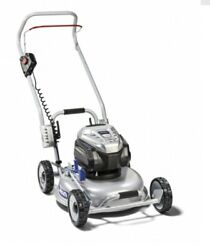 Lawn Mower Grin Lawnmower Bm46 82v Briggs 18 1/8in Engine Battery To Push