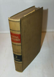 Westand039s Federal Supplement Volume 2 - Law Book - 1933
