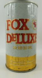 Fox Deluxe Beer Cold Springs Brewing Co Minn Man Cave Premium Pull Tab Beer Can