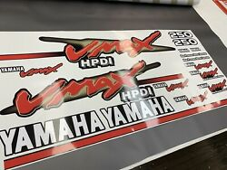 Yamaha 250hp Vmax 2006 Outboad Replacement Decals/ Stickers