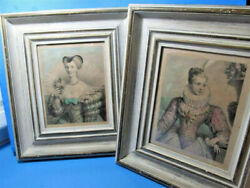 Vintage Style Victorian Ladies Queens Wall Art Pictures Prints