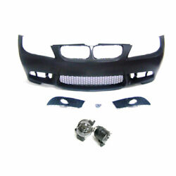 M3 Style Front Bumper Without Pdc Wiht Fog Lights For Bmw 3series E90 06-08