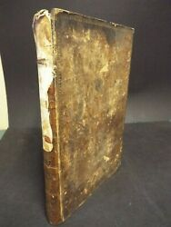 1815 Book History And Life Of Jesus Christ By Thomas Brown. Folio Size. Engravings
