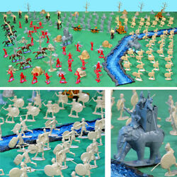 Deluxe Rome Vs Carthage Playset - 54mm Plastic Soldiers And Accessories