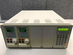Chroma 6314 Dc Electronic Load Mainframe + 2x 63102 Dc Electronic Load Modules