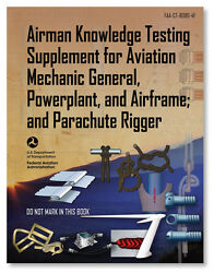 Faa Knowledge Testing Supplement Amt And Parachute Rigging Asa-ct-8080-4f