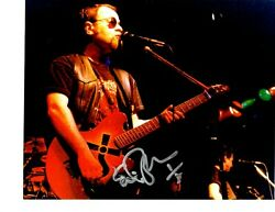 Blue Oyster Cult Signed Eric Bloom 8x10 Photo Rare Original Pic Proof L@@k Wow