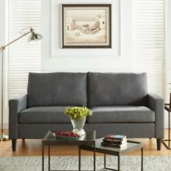 Gray Apartment Sofa Sofas Couch Couches Living Room Dorm Furniture Couch Grey