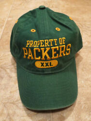 Nfl Green Bay Packers Baseball Cap Hat, Property Of The Packers 66