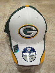 Nfl Green Bay Packers Baseball Cap Hat, L/xl, White And Green 75