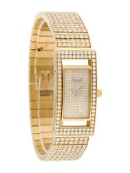 PIAGET Diamond Bezel Limelight Watch 11.34ct 18K Yellow Gold Size 7 or Smaller