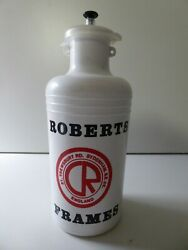 Vintage Nos Roberts Bikes Sydenham London Water Bottle Made By T.a Very Rare