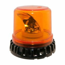 Titan Led Rotating Beacon Magnetic Base Amber With Clear Lens Brand New