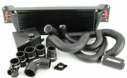 Perrin Front Mount Intercooler Fmic W/ Boost Pipings For 15-20 Wrx Black