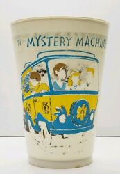 Vintage Scooby Doo Slurpee Cup The Mystery Machine 7-eleven Plastic Cup