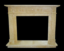 Cadre Cheminandeacutee En Travertin Classique Old Cheminandeacutee Marble Frame Top