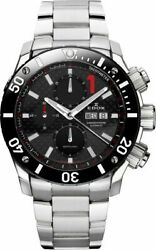 New Watch Edox Chronoffshore 1 Chronograph -automatic 500m Diver Swiss Made