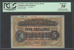 East Africa 5 Shilling 1-1-1949 P28s Specimen About Uncirculated