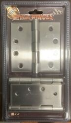 Wholesale Lot Bulk 304 Stainless Steel Heavy Duty Door Hinges 4x4x3mm Square